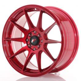 JR Wheels JR11 17×8,25 ET35 4×100/114,3 Platinum Red