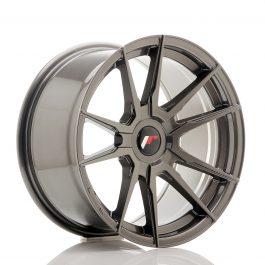 JR Wheels JR21 17×9 ET25-35 Blank Hyper Gray