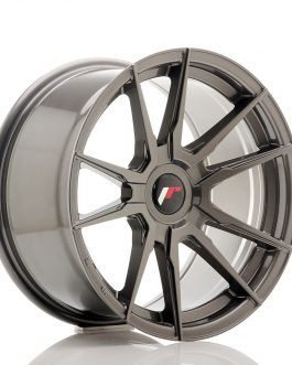 JR Wheels JR21 17×9 ET25-35 Blank Hyper Gray