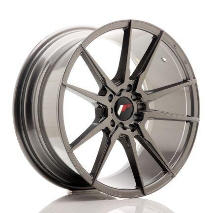 JAPAN RACING JR Wheels JR21 18x8,5 ET35 5x100/120 Hyper Gray 8.50x18