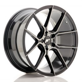 JR Wheels JR30 19×9,5 ET20-40 5H BLANK Black Brushed w/Tinted Face