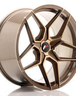 JR Wheels JR34 20×10 ET20-40 5H BLANK Platinum Bronze