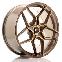 JR Wheels JR34 20×9 ET20-40 5H BLANK Platinum Bronze