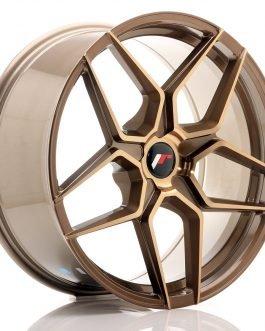 JR Wheels JR34 20×9 ET20-40 5H BLANK Platinum Bronze
