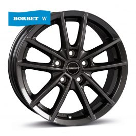 Borbet W mistral anthracite glossy 7×17 ET: 45 – 5×112