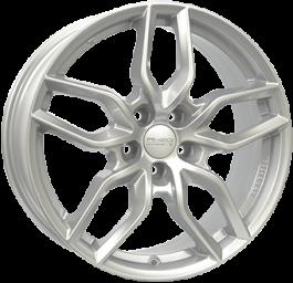ANZIO SPARK Silver 6.5×16 ET: 50 – 5×108