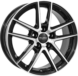 ANZIO SPLIT Gloss Black / Polished 8.0×18 ET: 45 – 5×112