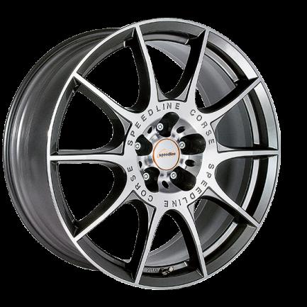Speedline Corse SL2 Marmora ANTRACITE FACE-CUT 8.0x18 ET: 33 - 5x108