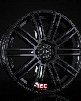 TEC Speedwheels AS3 Black glossy CB: 70.2 8×18 ET: 38 – 5×115