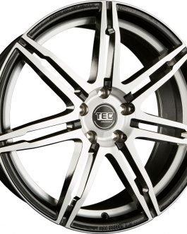 TEC Speedwheels GT2 Black polished CB: 70.2 8×19 ET: 40 – 5×115