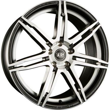 TEC Speedwheels GT2 Black polished CB: 72.5 8x18 ET: 45 - 5x112