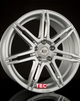 TEC Speedwheels GT6 Black polished lip CB: 72.6 8×19 ET: 30 – 5×120