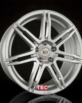TEC Speedwheels GT2 Cristal silver CB: 72.5 9×19 ET: 30 – 5×112