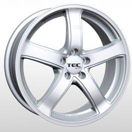 TEC Speedwheels AS1 Cristal silver CB: 63.4 7×16 ET: 46 – 5×108