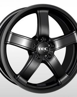 TEC Speedwheels AS1 Schwarz seidenmatt CB: 63.4 6.5×16 ET: 40 – 4×108