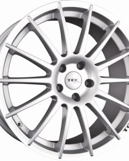 TEC Speedwheels AS2 Cristal silver CB: 72.5 8.5×19 ET: 40 – 5×114.3