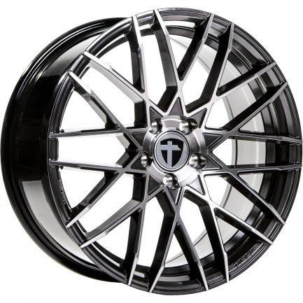 Tomason TN19 Dark Hyper black polished 8.5x19 ET: 30 - 5x112