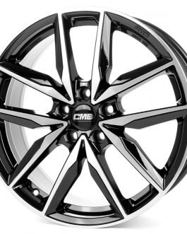 CMS C28 Diamond Black 7.5×18 ET: 37 – 5×114.3