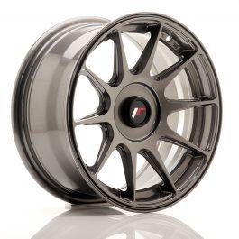 JR Wheels JR11 15×7 ET30 Blank Hyper Gray