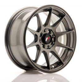 JR Wheels JR11 15×7 ET30 4×100/108 Hyper Gray