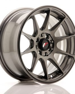 JR Wheels JR11 15×7 ET30 4×100/108 Hyper Gray