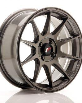 JR Wheels JR11 16×7 ET25 4×100 Hyper Gray