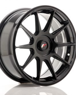 JR Wheels JR11 17×7,25 ET35-40 Blank Glossy Black