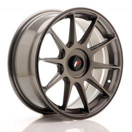 JR Wheels JR11 17×7,25 ET35-40 Blank Hyper Gray