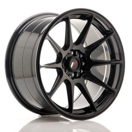 JAPAN RACING JR Wheels JR11 17x9 ET20 5x100/114 Glossy Black 9.00x17