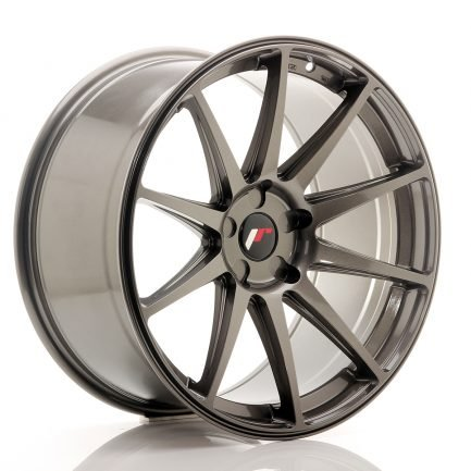 JAPAN RACING JR Wheels JR11 20x10 ET20-40 5H Blank Hyper Gray 10.00x20