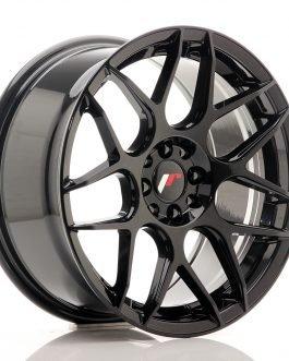 JR Wheels JR18 17×8 ET25 4×100/108 Glossy Black