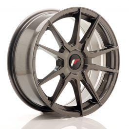 JR Wheels JR21 17×7 ET25-40 Blank Hyper Gray