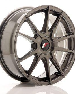 JR Wheels JR21 17×7 ET25-40 Blank Hyper Gray