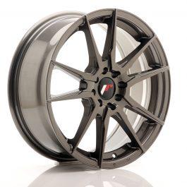 JR Wheels JR21 17×7 ET25 4×100/108 Hyper Gray