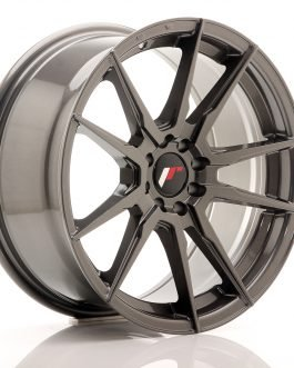 JR Wheels JR21 17×8 ET25 4×100/108 Hyper Gray