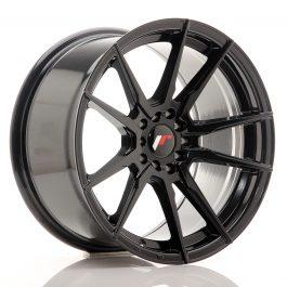 JR Wheels JR21 17×9 ET20 4×100/114 Gloss Black