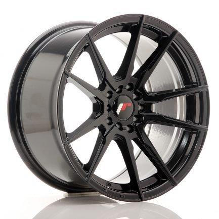 JAPAN RACING JR Wheels JR21 17x9 ET20 4x100/114 Gloss Black 9.00x17