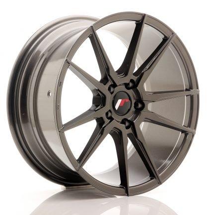 JAPAN RACING JR Wheels JR21 18x8,5 ET40 5x114,3 Hyper Gray 8.50x18