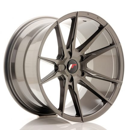 JAPAN RACING JR Wheels JR21 19x11 ET15-30 5H Blank Hyper Gray 11.00x19
