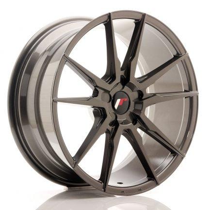 JAPAN RACING JR Wheels JR21 19x8,5 ET20-43 5H Blank Hyper Gray 8.50x19