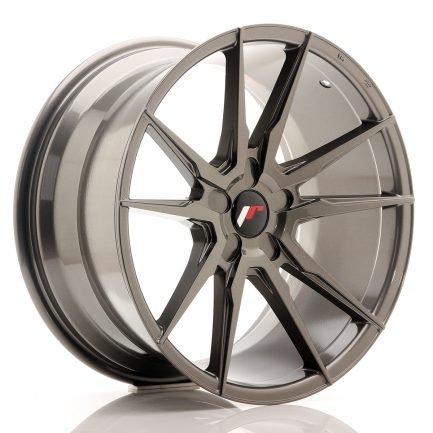 JAPAN RACING JR Wheels JR21 19x9,5 ET20-40 5H Blank Hyper Gray 9.50x19