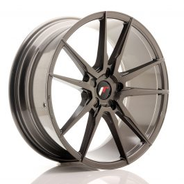 JR Wheels JR21 20×8,5 ET20-40 5H Blank Hyper Gray