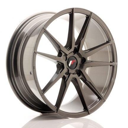 JAPAN RACING JR Wheels JR21 20x8,5 ET20-40 5H Blank Hyper Gray 8.50x20