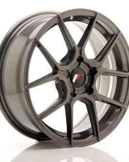 JR Wheels JR30 17×7 ET20-40 5H BLANK Hyper Gray