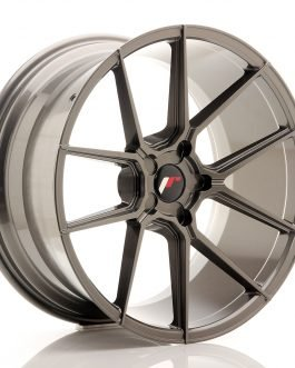 JR Wheels JR30 20×10 ET20-40 5H Blank Hyper Gray