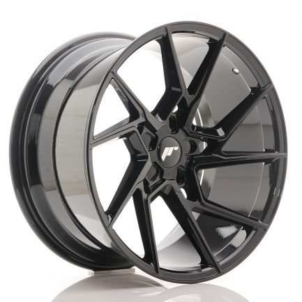 JAPAN RACING JR Wheels JR33 20x10,5 ET15-30 5H BLANK Gloss Black 10.50x20