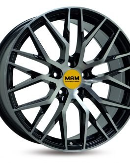 MAM RS4 Black Front Polish 8.5×20 ET:  –