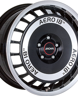 Ronal R50 AERO Gloss Black / Polished 7.5×16 ET: 38 – 4×100