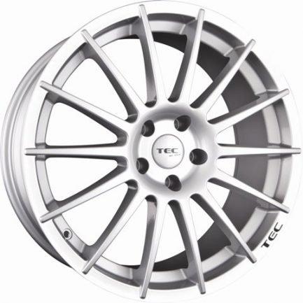TEC Speedwheels AS2 Cristal silver CB: 57.1 7.5x17 ET: 38 - 5x100