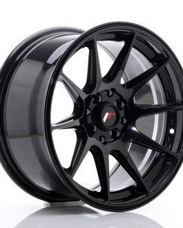 JR Wheels JR11 16×8 ET25 4×100/114 Glossy Black